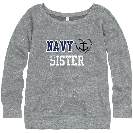 Navy Sister Sweater