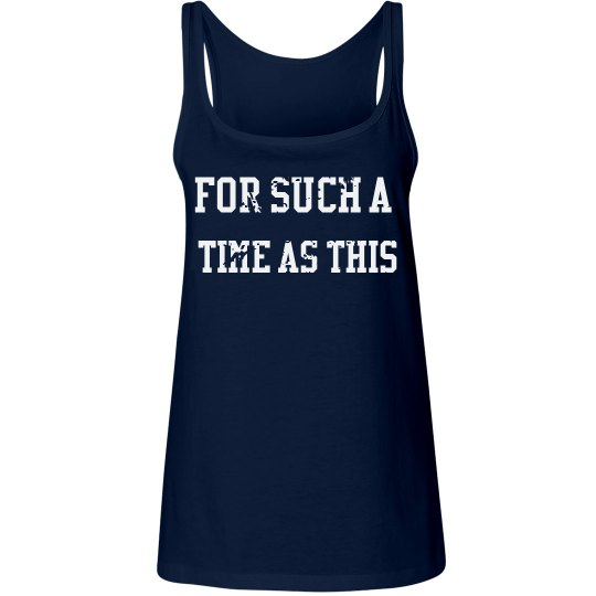 NAVY TANK FOR SUCH A TIME