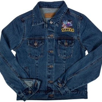 Nebula denim jacket