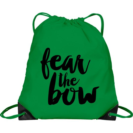 Neon Fear The Bow Cheer Bag