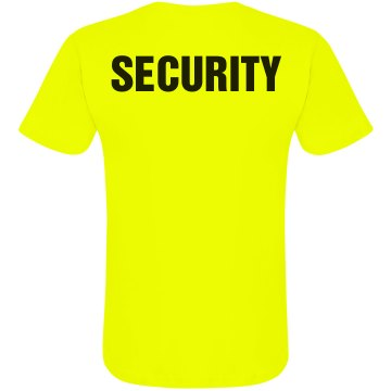 Neon Security T-Shirt