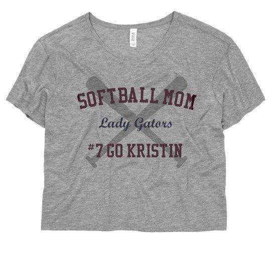 Neon Softball Mom Bats