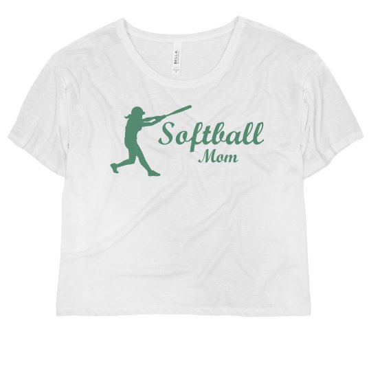 Neon Softball Mom Batter