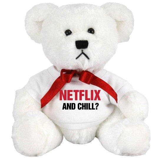 Netflix & Chill Gift Bear