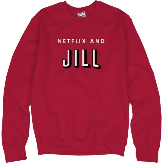 Netflix And Jill Funny Sweater
