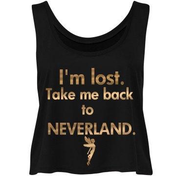 """""""Neverland"""" Crop Top"""