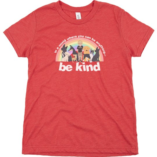 new be kind bella and canvas kids
