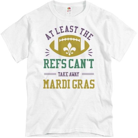 New Orleans Mardi Gras Football Ref