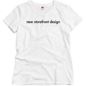 new storefront design