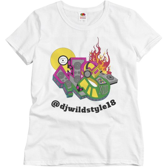 New Wildstyle Womens Relaxed T