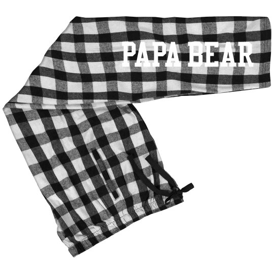 New Year's Papa Matching Bottoms