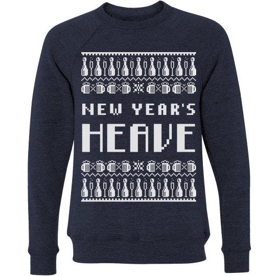 New Year's Ugly Sweater