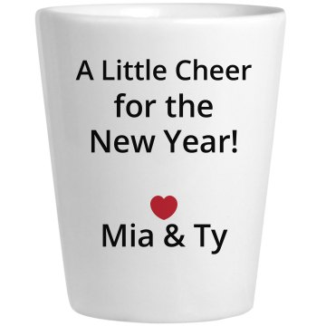 New Years Wine Cheer