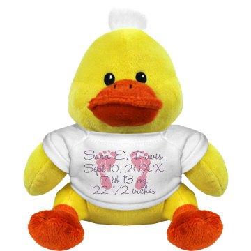 Newborn Baby Duckie