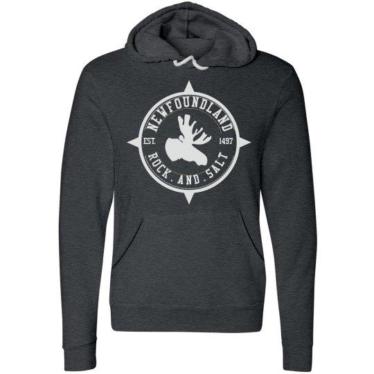 Newfoundland rock and salt hoodie
