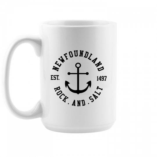 Newfoundland Rock and Salt Mug