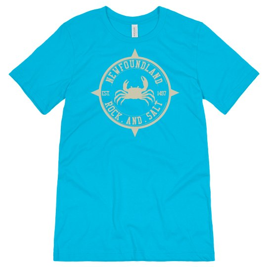 Newfoundland Rock and Salt T-shirt