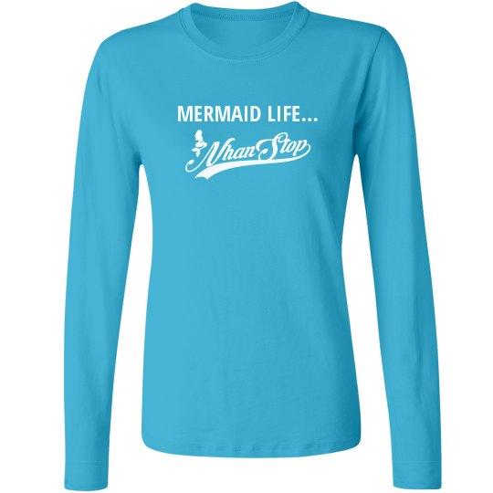NhanStop Models LS Brittany T-shirt Mermaid Life