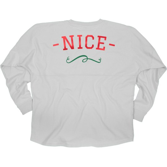 Nice Best Friend Hooded Jersey