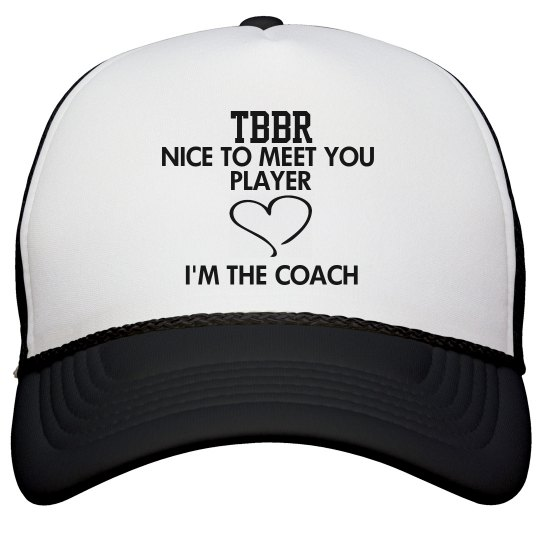NICE TO MEET YOU PLAYER Hat