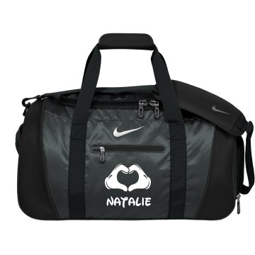 Nike Cheer Duffel Bag With Custom Name