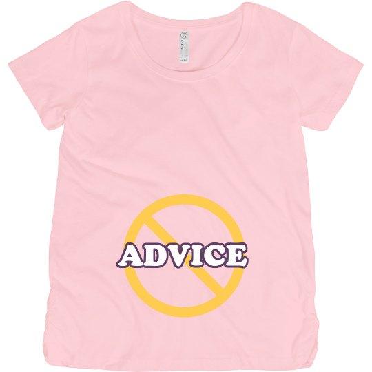 No Baby Advice Please