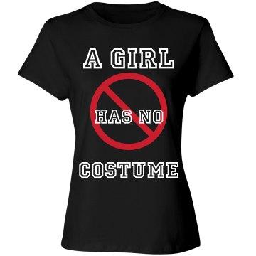 NO COSTUME