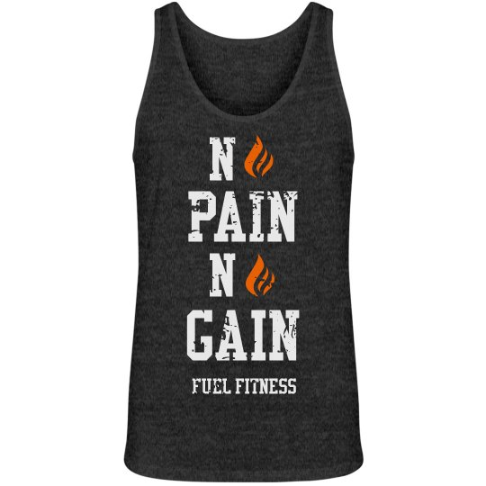No Pain No Gain - Mens Tank