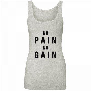 No Pain Workout Tank