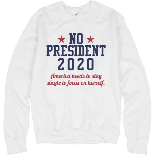 No President 2020 Sweater
