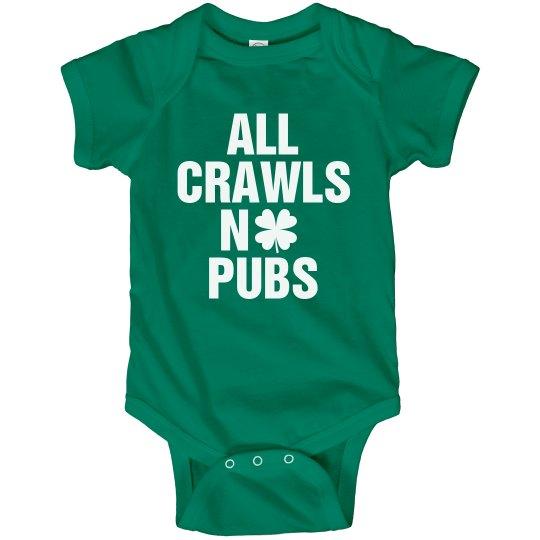 No Pub Crawls For Me!