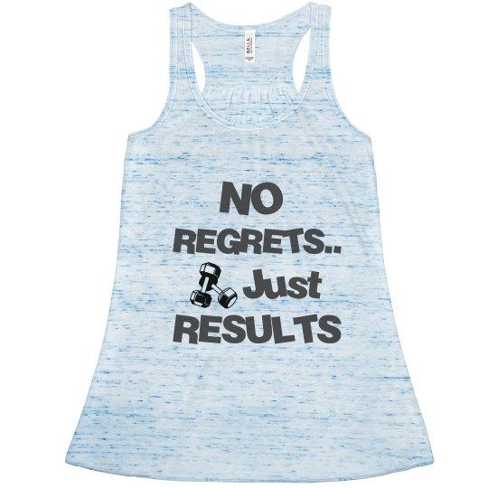 No Regrets- Tank Top