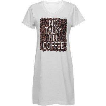 No Talky Till Coffee
