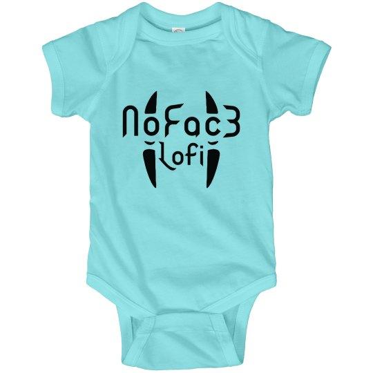 NOFAC3LOFI Baby Onesie