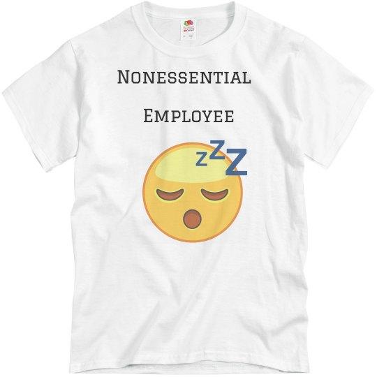 Nonessential employee