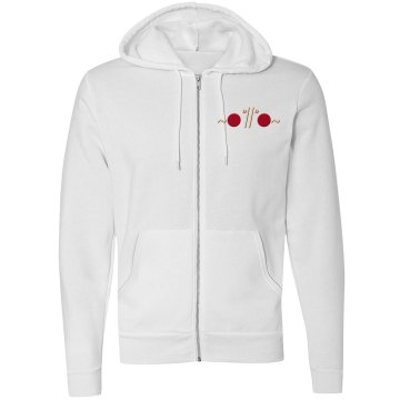 Noodlitude unisex fleece hoodie