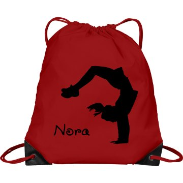 Nora cheerleader bag