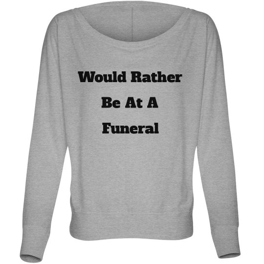 NOT GONNA LIE Relaxed Long Sleeve Top