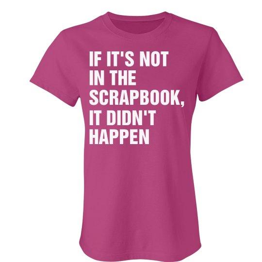 Not In Scrapbook