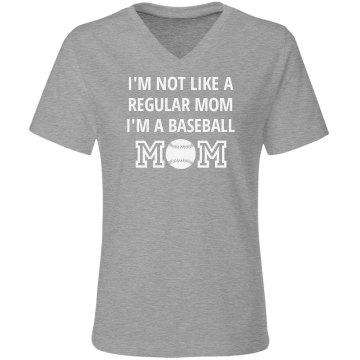 Not Regular Mom Baseball