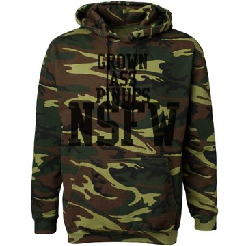 NSFW HOODED SWEAT SHIRT