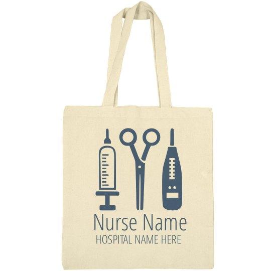 Nursing Tools Custom Tote
