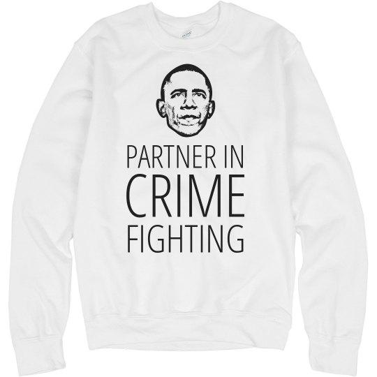 Obama Bff Partner In Crime Fighting