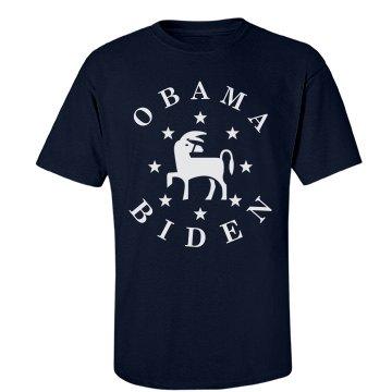 Obama Biden Donkey Stars