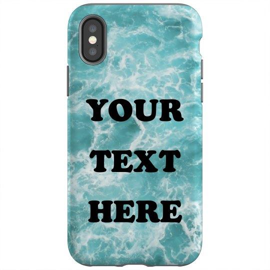 Oceanic Custom Text Design