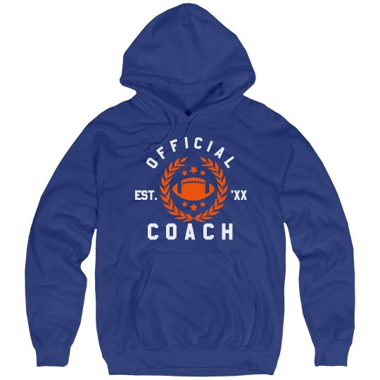 Official Coach Custom Hoodie