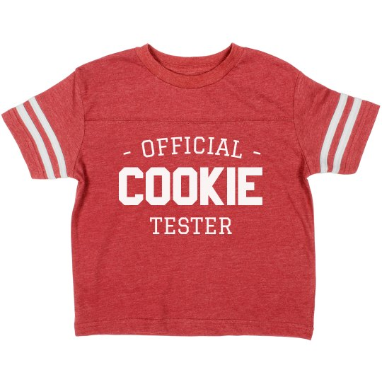 Official Cookie Tester Toddler Tee