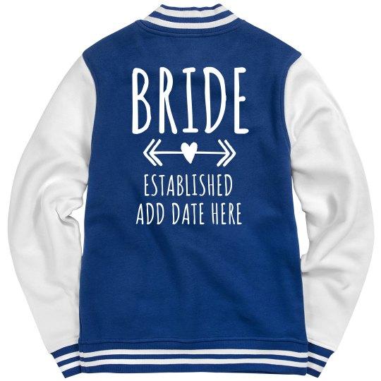 Official Custom Bride Jacket