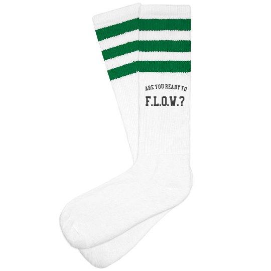 Official F.L.O.W. socks