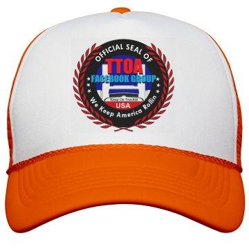 Official TTOA Facebook Logo Member Neon Trucker Cap